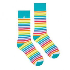 4lck rainbow socks opt