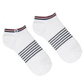 Ankle socks with stripes