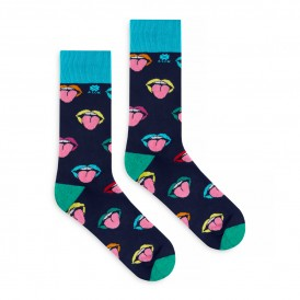 Colourful Mouth Socks